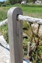 Wooden pillar Royalty Free Stock Photo