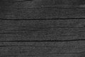 Wooden Plank Board Black Wood Tar Paint Texture Detail, Large Old Aged Dark Detailed Cracked Timber Rustic Macro Closeup Pattern Royalty Free Stock Photo