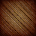 Wooden plank dark background realistic wood texture vector illustration Royalty Free Stock Images
