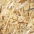 Wooden pressed shavings natural background Stock Photos