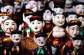 Wooden puppets, Hanoi, Vietnam Royalty Free Stock Photo
