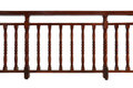Wooden Railing Royalty Free Stock Photo
