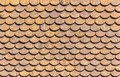 Wooden roof closeup texture and pattern of Stock Photos