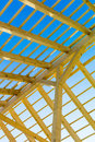 Wooden roof construction Royalty Free Stock Photography