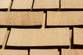 Wooden Roof Shingles Royalty Free Stock Photo