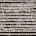 Wooden roof texture on old house, seamlessly tileable background