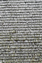 Wooden roof tiles Royalty Free Stock Photography