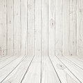 Wooden room background light as Royalty Free Stock Images