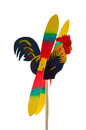 Wooden rooster Royalty Free Stock Photos