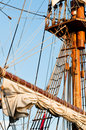 Wooden Sail Boat Royalty Free Stock Images