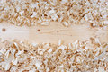 wooden shavings chips texture Royalty Free Stock Photo