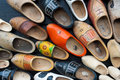 Wooden shoes Royalty Free Stock Image