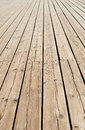 Wooden sidewalk pier fragment of Royalty Free Stock Images
