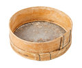 Wooden sieve Royalty Free Stock Photo