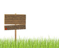 Wooden signboard Royalty Free Stock Image