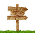 Wooden Signposts