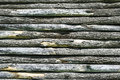 Wooden slats background disposed horizontally forming a wall Stock Photos