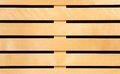 Wooden slats for background panel Stock Photo