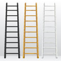 Wooden step ladders Royalty Free Stock Photo