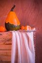 Wooden Table Full Fresh Fruit ...