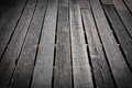 Wooden terrace floor old out door Stock Photo