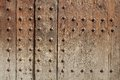 Wooden texture old door surface background grungy abstract Royalty Free Stock Photography