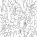 Wooden texture. Wood grain pattern. Abstract fibers structure background, vector illustration Royalty Free Stock Photo