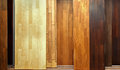 Wooden textures different shades of wood floor samples Stock Photo
