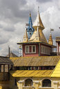 The wooden tower of the Kremlin Stock Photography