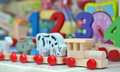 Wooden toys Royalty Free Stock Photo