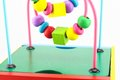 Wooden toys developing game for kids Royalty Free Stock Photo