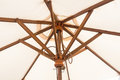 Wooden umbrella vintage from asia Royalty Free Stock Photography