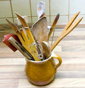 Wooden utensil Royalty Free Stock Image