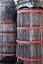 Wooden vats or barrels Royalty Free Stock Photography