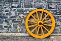 Wooden Wagon Wheel Royalty Free Stock Photo
