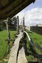 Wooden walkway woodenwalkway Stock Image