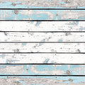 Wooden wall background or texture, The old walls are painted blu Royalty Free Stock Photo