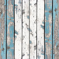 Wooden wall background or texture, The old walls are painted blue Royalty Free Stock Photo