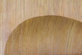 Wooden wall concave brown design Royalty Free Stock Image