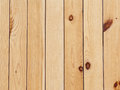 Wooden wall not painted natural wood Royalty Free Stock Images