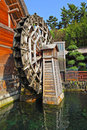 Wooden waterwheel Royalty Free Stock Photography