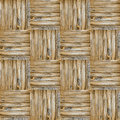 Wooden weave texture Royalty Free Stock Image