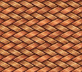 Wooden weaving Stock Photo