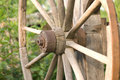 Wooden wheel Stock Photography