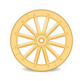 Wooden wheel Royalty Free Stock Image