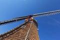 Wooden Windmill Blades - Holland Michigan Royalty Free Stock Photo