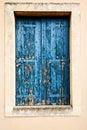 Wooden window shutter Royalty Free Stock Photo
