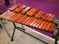 Wooden xylophone view of in exhibition Stock Photos