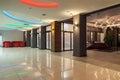 Woodland hotel - hall Royalty Free Stock Photo