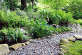 Woodland Shade Garden Path